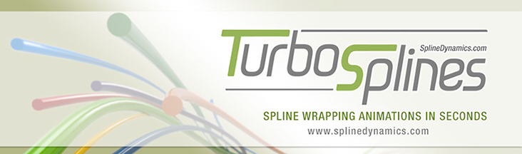 TurboSplines 3dsmax script - banner