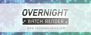 Overnight Batch Render 3dsMax plugin