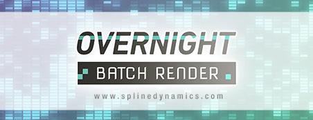 Overnight Batch Render - 3dsmax plugin