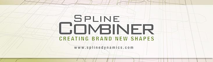 Spline Combiner 3dsmax script - banner