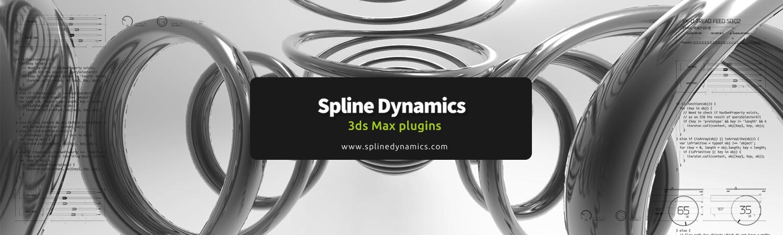 SplineDynamics 3dsmax plugins banner