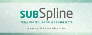 SubSpline 3dsMax plugin